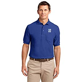 Silk Touch Polo with Pocket | 36 Qty | 28.79 Each | Promotional Product Ultramarine