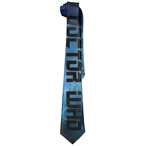 Mens The Doctor Who Character Leisure Wide Tie Necktie Costume Accessory Fashion Design