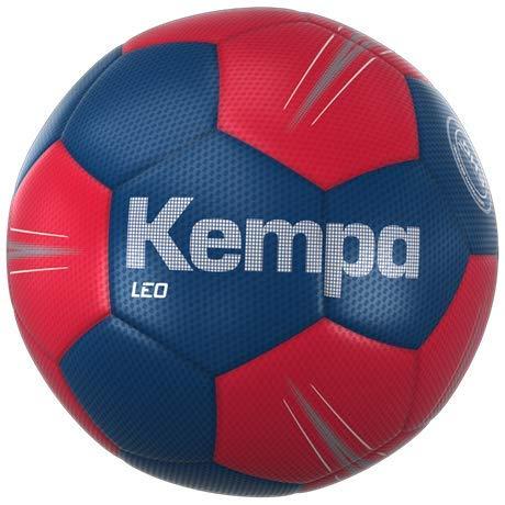 Kempa Leo baló n de Entrenamiento Balonmano, Azul océ ano/Rojo lighthou, 2 Azul océano/Rojo lighthou 200187512
