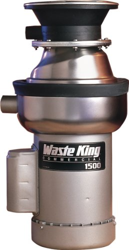 - Waste King 1500-1 1.5 HP Commercial Food Waste Disposer