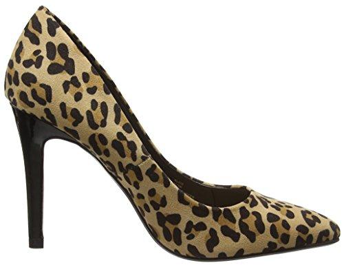 Head Over Heels Damen Alice Pumps Multicolour (Leopard)
