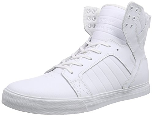 Supra Zapatillas Blanco - Weiß (WHITE / WHITE / RED - WHITE WWR)