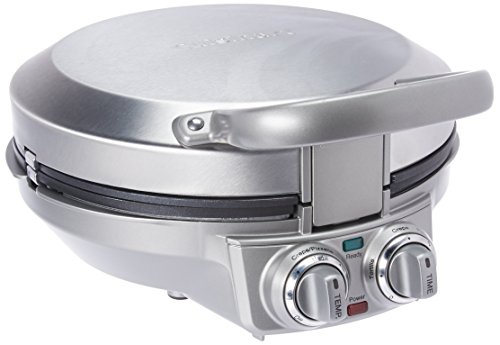 Cuisinart CPP-200 International Chef Crepe/Pizzelle/Pancake Plus, Stainless Steel by Cuisinart