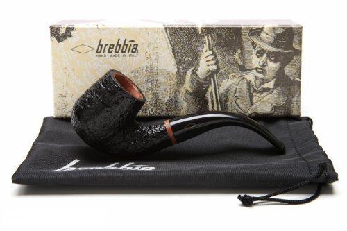 Brebbia 1960 Sabbiata Nera 6000 Tobacco Pipe by Brebbia