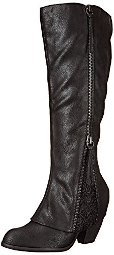 Not Rated Women's Sassy Classy Winter Boot, Black, 10 M US