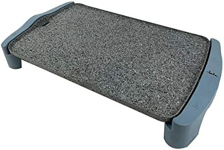 Jata GR600AM Plancha de Asar, 2500 W, Granite, Gris y azul