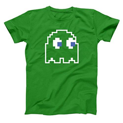 8-Bit Video Game Ghost Group Halloween Costume Mens Shirt Small - 8 Costume Bit