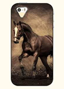 OOFIT Phone Case Design with Running Horse for Apple iPhone 5 5s 5g wangjiang maoyi