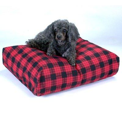 Snoozer Rectangle Pillow Pet Bed Snoozer Rectangle, All Fabric, Medium, Paisley (Pet Paisley Beds Medium)