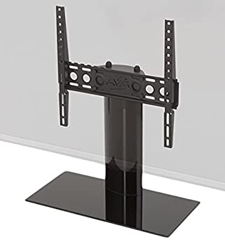 AVF B400BB-A Universal Table Top TV Stand TV Base – Fixed Position – Fits Most 37 to 55-Inch TVs – Black