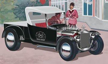 アメリカレベル 1/24 SSP ブラックウィドウ フォード モデルT 00060 プラモデルの商品画像
