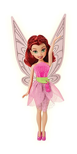 Disney Fairies Rosetta with Baby Bunny Charm Doll