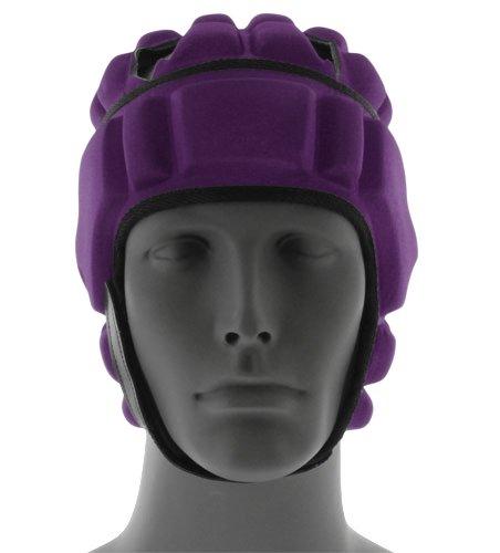 Gamebreaker Multi-Sport Soft Shell Protective Headgear - GB-12-02 (Purple, Medium)