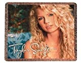 Taylor Swift Self-Titled Album Cover Throw Blanket
