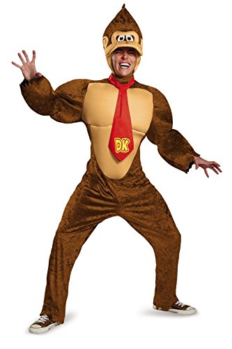 Disguise Men's Super Mario Donkey Kong Deluxe Costume - http://coolthings.us