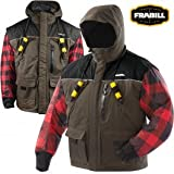 Frabill Ice I3 Jacket, Brown, Small Review