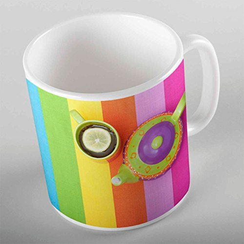 3D ELSE HALI Modern Sky belt teapot Porcelain Art Coffee Tea