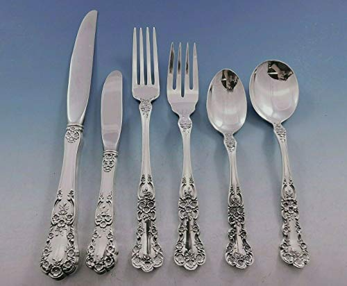 Buttercup by Gorham Sterling Silver Flatware Set 8 Place Size Service 57 pieces