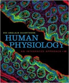 Silverthorn, human physiology: an integrated approach, books a la.