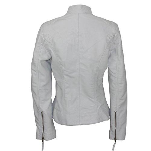 Blouson Teddy Femme taille Blanc Xposed unique 0q5dn