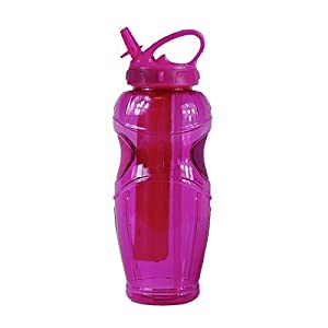 Cool Gear 32 Oz Ez-freeze Water Bottle - Solstice - BPA Free - PVC Free - Pht...
