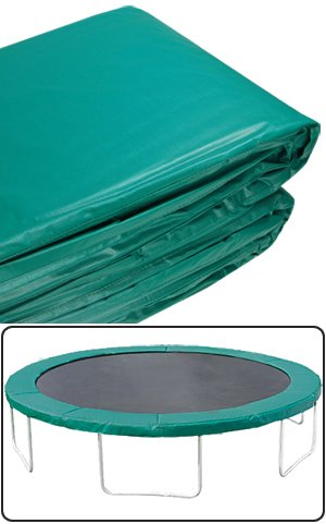 Cheap Green Round Trampoline Pads Safety Padding 14 ft