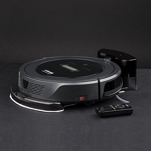 H. Koenig Swrc90 - Robot aspirador con tecnología Watermop, silencioso: Amazon.es: Hogar
