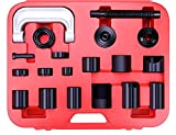 OrionMotorTech Universal Ball Joint Service Kit, Ball-Joint Press U-Joint Puller Removal Separator (Red)