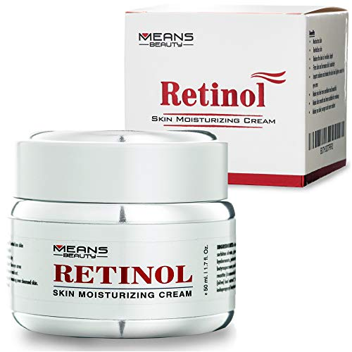 Retinol Eye Cream For Women And Men, Anti Aging Retinol Moisturizer Cream With Anti Wrinkle Effect, This Is The Best Night Cream For A Younger Skin, Reduce Signs Of Aging And Fine Line