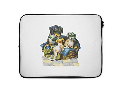 Style in Print Dachshund With Puppies Pets Animlas Laptop...