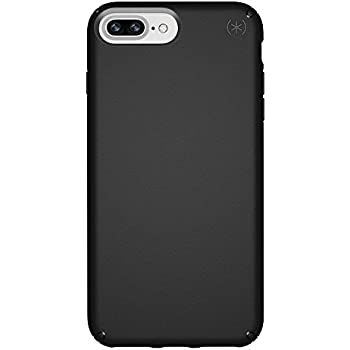 the best attitude ee25f 786fc Speck Products Presidio Case for iPhone 8 Plus (Also fits 7 Plus and 6S/6  Plus), Black/Black