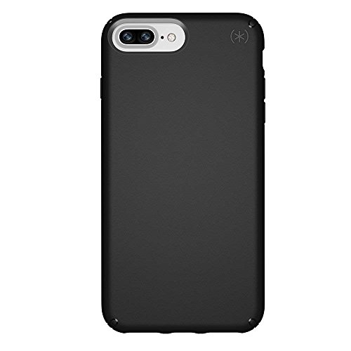 Speck Products Presidio Case for iPhone 8 Plus (Also fits 7 Plus and 6S/6 Plus), Black/Black