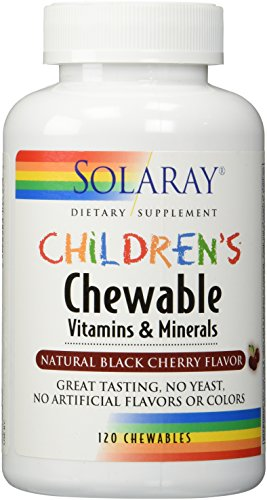 CHILDREN'S MULTI CHEW CHERRY 120 TABLETS (Silica Tabs 120)