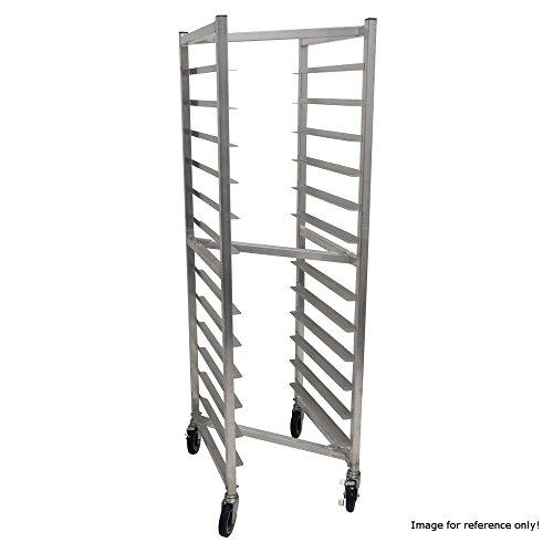 "Advance Tabco NR-12 Full Height Mobile Pan Rack with Nesting Design, (12) 18"" x 26"" Sheet Pan Capacity"