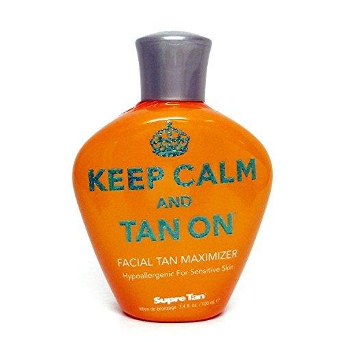 2014 Keep Calm And Tan On Facial Tan Maximizer Tanning Lotion - 3.4 oz. ()