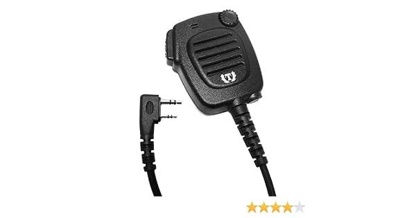 Amazon.com: Waterproof Radio Speaker Mic for Kenwood TK-270 TK-370 TK-2200: Car Electronics