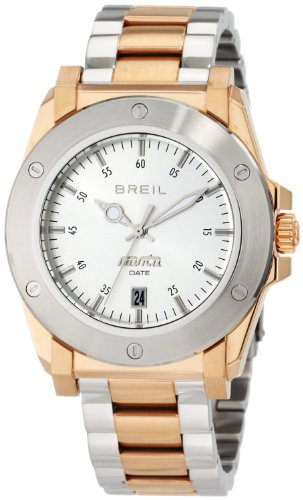 Breil Milano Men's TW0851 Manta Ion-Plating Two-Tone Rose Gold Case Watch