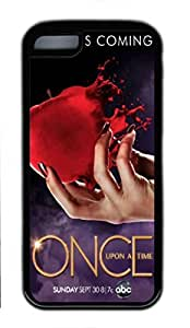 iCustomonline Once Upon A Time Protective Rubber Black Case for ipod touch 5 ipod touch 5