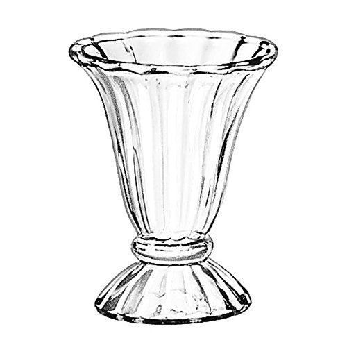 Libbey 5115 - Tulip Sundae Dish, 6-1/2 oz, CS of 3/DZ
