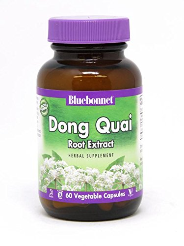 BlueBonnet Dong Quai Root Extract Supplement, 60 Count ()