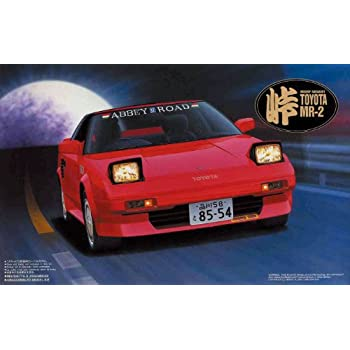 1/24 Toyota MR2 Touge Series No.4 (AW11) by Fujimi