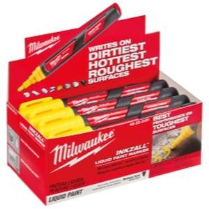 Milwaukee Electric Tools Paint Marker, Yellow (48223721)