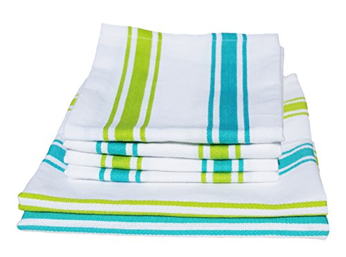 Dish Towel, Tea Towel, Boldways 6 piece set, Two 16