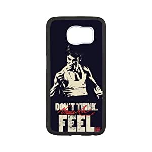 TOSOUL Custom painting Bruce Lee Phone Case For Samsung Galaxy S6 G9200 [Pattern-3]