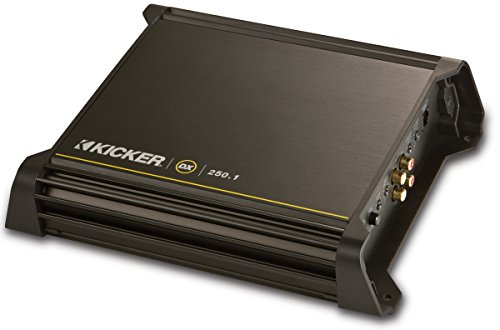 Kicker 11DX250.1 Sub Amplifier DX250.1 Mono Amp 250W (Certified Refurbished)