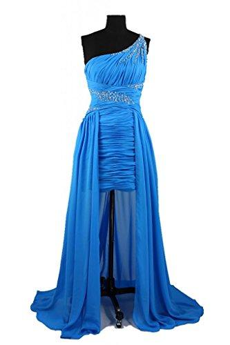 charmingbridal - Robe - Trapèze - Femme -  bleu - 40