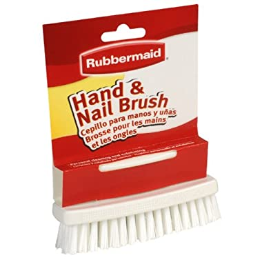 Rubbermid Hand & Nail Brush 4-1/4  X 1-3/8  (FGG11112)
