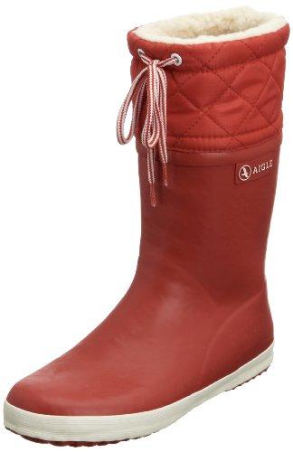 Pluie De Enfant blanc Mixte Bottes rouge Rouge Aigle Giboulee qP1U6qt