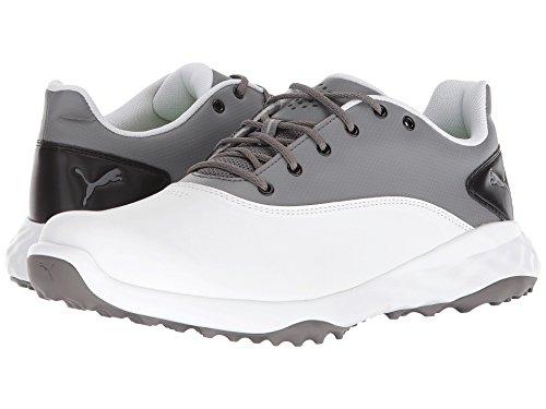 [PUMA(プーマ)] メンズランニングシューズ?スニーカー?靴 Grip Fusion Puma White/Quiet Shade/Puma Black 10 (28cm) D - Medium