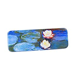 DaHo Tin Pencil Box With World Famous Arts for School, Office, Home, Makeup Storage 9 Colorful Tin Pencil Box with great arts Keep your pencils and small accessories protected Make your table nice and clean